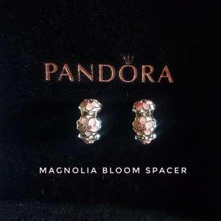 Pandora Charm Spacer Magnolia Bloom