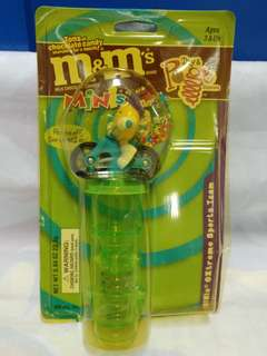 絕版全新 M & M'S 黃色豆單車 MINIS EXTREME SPORTS TEAM POGO DISPENSER 1 件