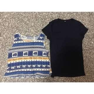 買一送一❤️uniqlo羅紋T.背心#女裝半價