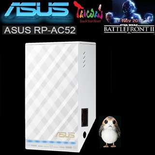ASUS RP-AC52 Dual-Band Wireless-AC750 Range Extender (IEEE 802.11 a/b/g/n/ac) with Signal Indicator..