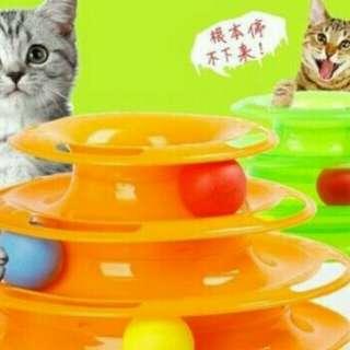 貓咪玩具轉盤球