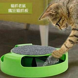 貓咪玩具瘋狂貓抓板