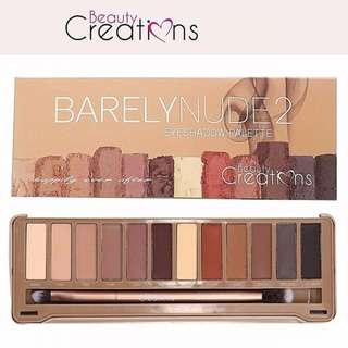 Beauty Creations Barely Nude 2 Palette