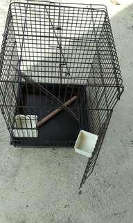 Heavy duty bird, parrot cage LIKE NEW