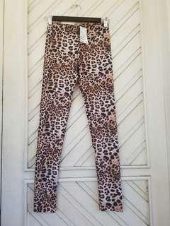 H&M Leopard Print Leggings