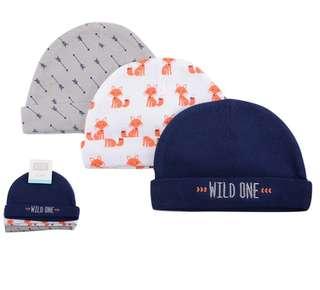Hudson Baby Hat / Swaddle / Wrap