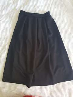 High waisted skirt
