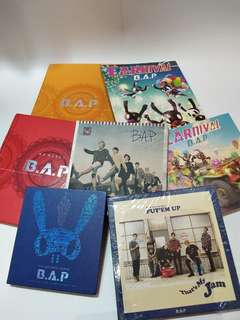 B.A.P ALBUMS FOR SALE