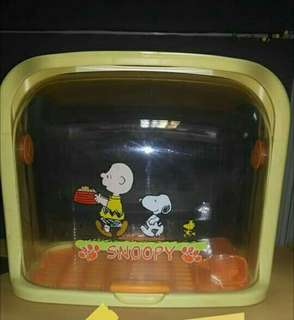 Snoopy bread/cake box