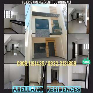FULY FINISHED TOWNHOUSE in Arrellano Residences 10% LOW DP