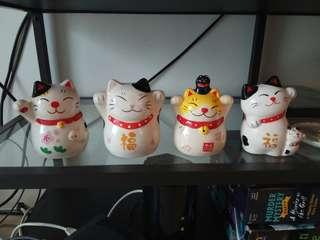 Fortune Cat figurines