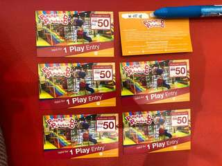 The Parenthood Playland Ticket