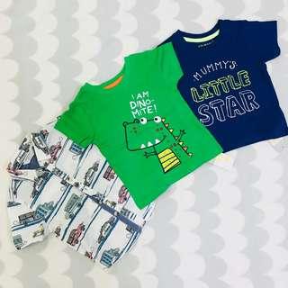 Boy Primark Shirt Combo Set RM99