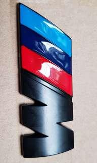 BMW M Badge Matt Black