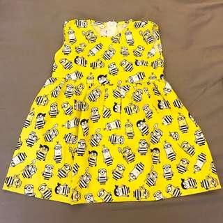 Minion Cotton Dress
