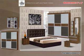 bedroom set installment plan payment per-month 8805