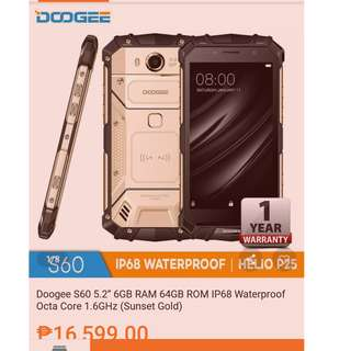 DOOGEE S60 | Swap sa iphone 6