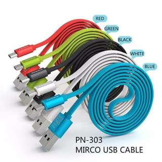 PINENG PN-303 FAST CHARGE ANDROID USB CABLE PN303 PN 303