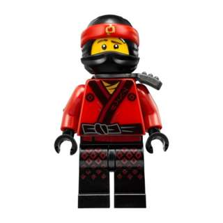 The LEGO NINJAGO Movie njo316 Kai 連武器 (出自 70606 70611 70618 與 70620 71019 同系)