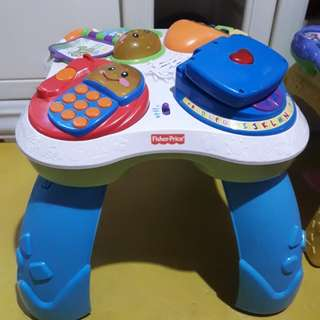 FisherPrice Activity table