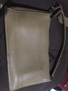 Coach leather pochette