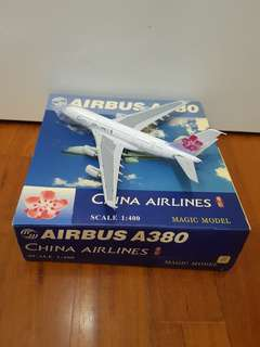 China Airlines Airbus A380 Airplane Model(full diecast)