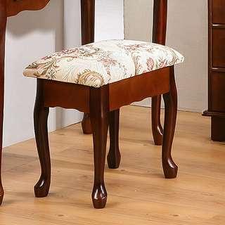 英倫風歐式收納化妝椅