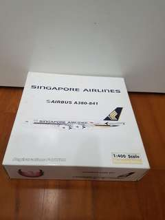 Singapore Airlines Airbus A380 Airplane model(full diecast)