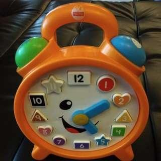 Fisher Price clock