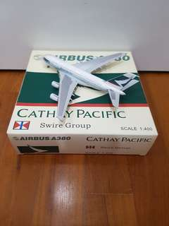 Cathay Pacific Airbus A380 Airplane Model(full diecast)