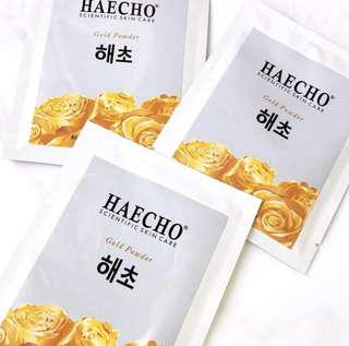 "HAECHO ""The Gold Powder"""