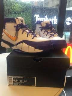 Nike Zoom Kobe 1 Protro US9.5 台灣公司貨