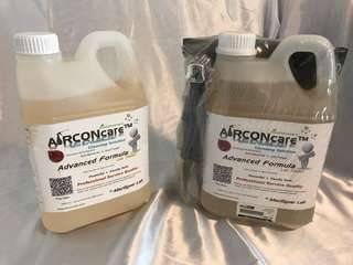 Aircon Cleaning Kit  / care Advanced formula