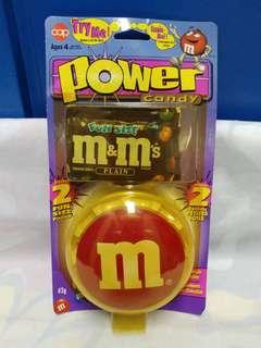 絕版全新 M & M'S 紅色豆 POWER CANDY 1 件