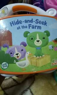 Leapfrog hide n seek book