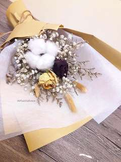 Dried Flower 🌼 Rustic Bouquet V