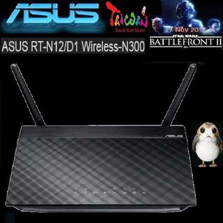 ASUS RT-N12/D1 N300 3-IN-1 Wireless Router..