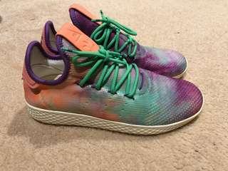 "Adidas x Pharrell Tennis Hu ""Holi Powder Dye"""