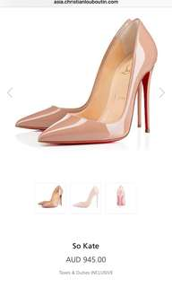 Christian Louboutin So Kate Heels