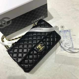 [HOT RESTOCK‼️] CHANEL CLASSIC SLING HANDBAG WITH BOX AND RECEIPT (FREE POSTAGE)