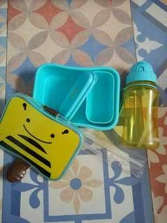Lunch box + Water bottle