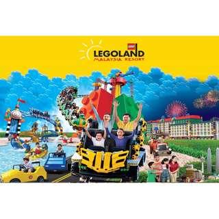 Lego land Malaysia - Entry tickets