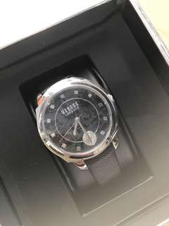 Versus by Versace Leather Watch