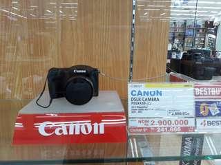 Cicilan Tanpa Kartu Kredit Canon DSLR PSSX430 C