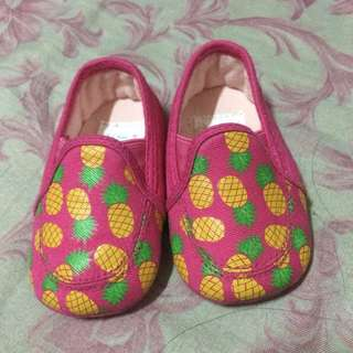 Pink Fruity Shoes 0-3mos