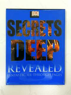 DK Revealed: Secrets of the Deep by Frances Dipper - 48 pages (Children Non-Fiction Science History Reference)