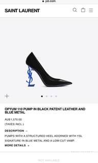Saint Laurent opyum heels
