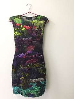 Topshop Petite bodycon dress