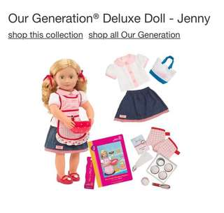 Our Generation® Deluxe Doll - Jenny™
