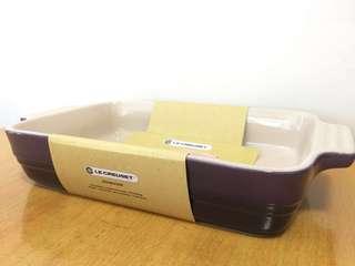 LE CREUSET LC Rectangular Dish Cassis colour 26cm 方型深紫色焗盤